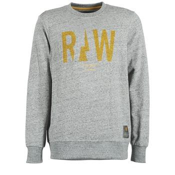 Ruhák Férfi Pulóverek G-Star Raw RIGHTREGE R SW L/S Szürke