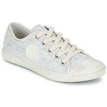 Cipők Lány Rövid szárú edzőcipők Pataugas BOUTCHOU Fehér