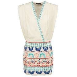 Ruhák Női Rövid ruhák Antik Batik POLIN Fehér / Sokszínű