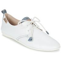 Cipők Női Oxford cipők Pikolinos CALABRIA 917 Fehér