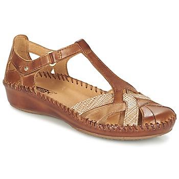 Shoes Női Szandálok / Saruk Pikolinos PUERTO VALLARTA 655 Teve