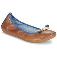 Cipők Női Balerina cipők / babák Pikolinos BORA BORA Teve