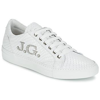 Shoes Női Rövid szárú edzőcipők John Galliano 7977 Fehér