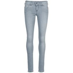 Ruhák Női Slim farmerek Pepe jeans PIXIE Szürke / Q81