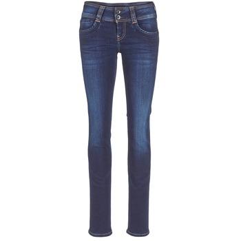 Ruhák Női Egyenes szárú farmerek Pepe jeans GEN Kék / H06