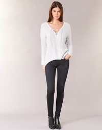 Ruhák Női Skinny farmerek Pepe jeans SOHO S98 / Fekete