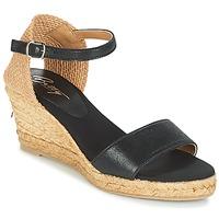 Cipők Női Szandálok / Saruk Betty London ANTE Fekete