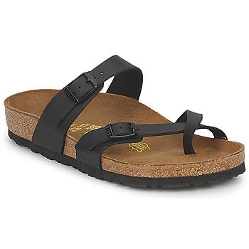 Cipők Női Papucsok Birkenstock MAYARI Fekete