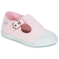 Shoes Lány Balerina cipők / babák Citrouille et Compagnie RISETTE JANE Rózsaszín