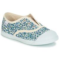 Shoes Lány Rövid szárú edzőcipők Citrouille et Compagnie RIVIALELLE Kék / Sokszínű