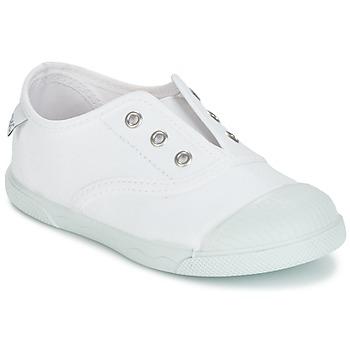 Shoes Gyerek Rövid szárú edzőcipők Citrouille et Compagnie RIVIALELLE Fehér