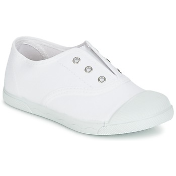 Cipők Gyerek Rövid szárú edzőcipők Citrouille et Compagnie RIVIALELLE Fehér