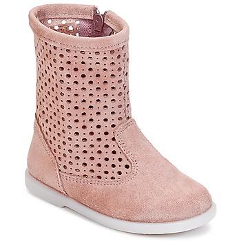 Cipők Lány Csizmák Citrouille et Compagnie BOREAL Rózsaszín