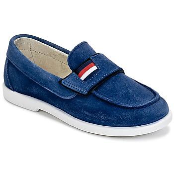 Cipők Fiú Mokkaszínek Citrouille et Compagnie LILMOUSSE Kék / Tengerész
