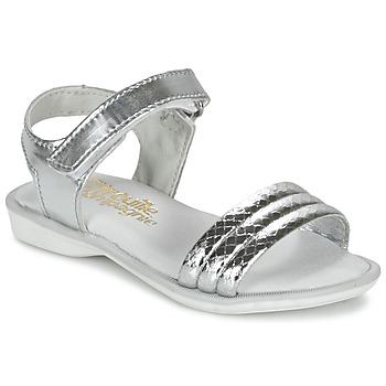 Shoes Lány Szandálok / Saruk Citrouille et Compagnie GOSAGOLA Ezüst