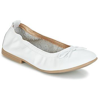 Shoes Lány Balerina cipők / babák Citrouille et Compagnie JAPPALIE MOCA Fehér
