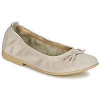 Cipők Lány Balerina cipők / babák Citrouille et Compagnie JAPPALIE MOCA Krém