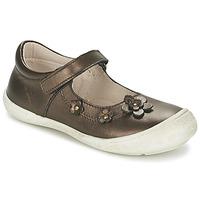 Cipők Lány Balerina cipők / babák Citrouille et Compagnie MELINA BIS Barna / Irizáló