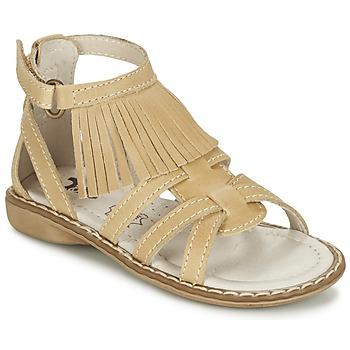 Shoes Lány Szandálok / Saruk Citrouille et Compagnie CONQUITA Bézs
