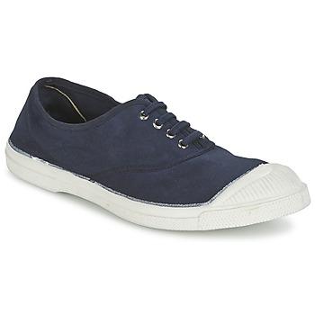 Cipők Női Rövid szárú edzőcipők Bensimon TENNIS LACET Tengerész