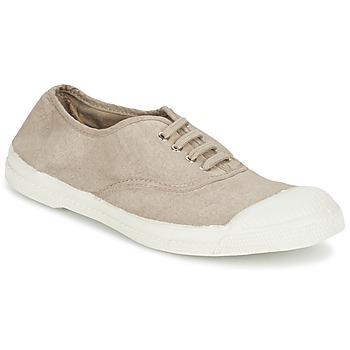 Cipők Női Rövid szárú edzőcipők Bensimon TENNIS LACET Sötét / Bézs