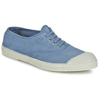 Cipők Női Rövid szárú edzőcipők Bensimon TENNIS LACET Kék