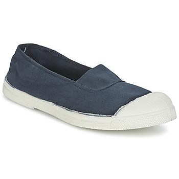 Cipők Női Balerina cipők / babák Bensimon TENNIS ELASTIQUE Tengerész