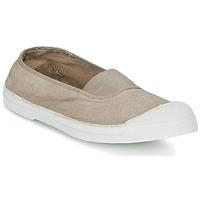 Cipők Női Rövid szárú edzőcipők Bensimon TENNIS ELASTIQUE Bézs