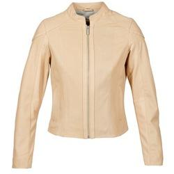 Ruhák Női Bőrkabátok / műbőr kabátok Oakwood 61848 Bézs / Bőrszínű