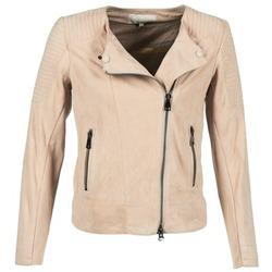 Ruhák Női Bőrkabátok / műbőr kabátok Oakwood 61903 Rózsaszín / Tiszta