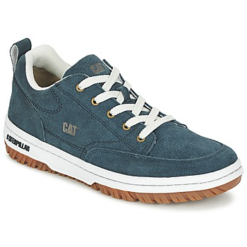 Cipők Férfi Rövid szárú edzőcipők Caterpillar DECADE SUEDE Kék / Este