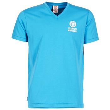 material Férfi Rövid ujjú pólók Franklin & Marshall DOBSON Kék