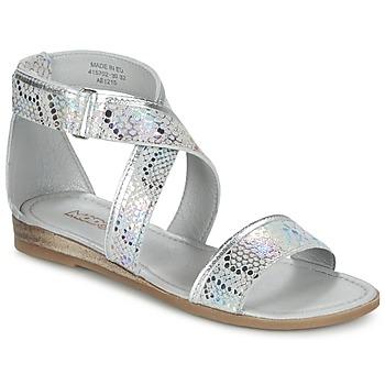 Cipők Lány Szandálok / Saruk Mod'8 JOYCE Ezüst