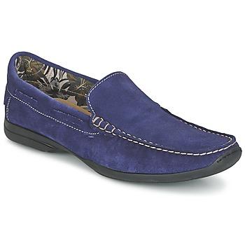 Cipők Férfi Mokkaszínek So Size ELIJA Kék