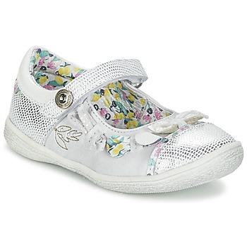 Cipők Lány Balerina cipők / babák Catimini COLIBRI Ezüst