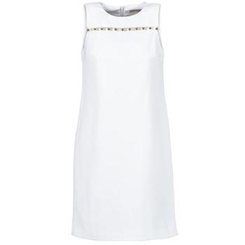 material Női Rövid ruhák MICHAEL Michael Kors MS68W2L3GZ Fehér