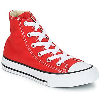 Cipők Gyerek Magas szárú edzőcipők Converse CHUCK TAYLOR ALL STAR CORE HI Piros