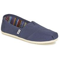 Cipők Női Belebújós cipők Toms CLASSICS Tengerész