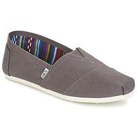 Cipők Férfi Belebújós cipők Toms CLASSICS Szürke