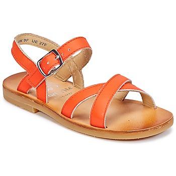 Cipők Lány Szandálok / Saruk Start Rite NICE II Narancssárga