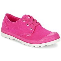 Shoes Női Rövid szárú edzőcipők Palladium US OXFORD Rózsaszín