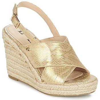 Cipők Női Szandálok / Saruk Elle CAMPO Bézs / Arany