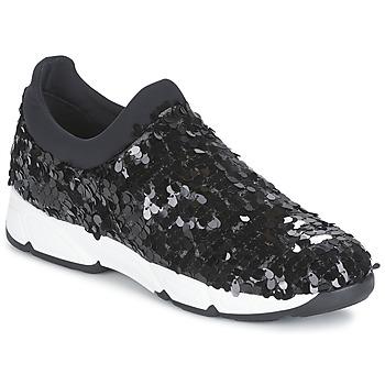 Cipők Női Belebújós cipők Meline OBALA Fekete