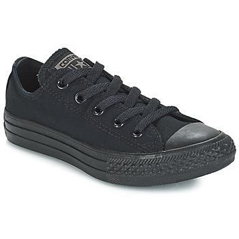 Cipők Gyerek Rövid szárú edzőcipők Converse CHUCK TAYLOR ALL STAR MONO OX Fekete