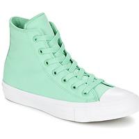 Cipők Magas szárú edzőcipők Converse CHUCK TAYLOR All Star II NEON HI Zöld