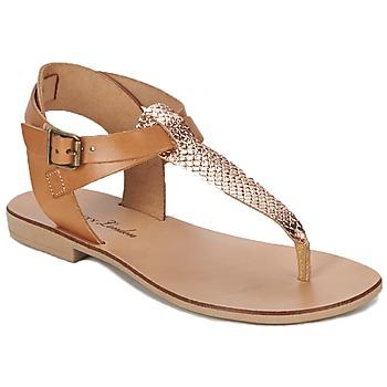 Shoes Női Szandálok / Saruk Betty London VITALLA Teve / Rózsaszín