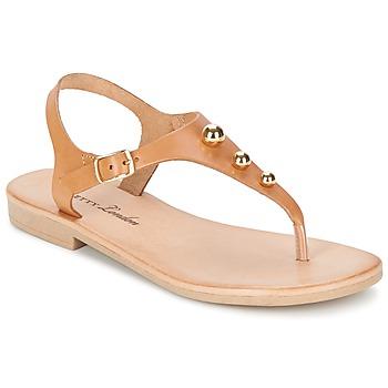 Cipők Női Szandálok / Saruk Betty London VITALLA Teve