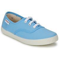 Shoes Rövid szárú edzőcipők Victoria INGLESA LONA Kék