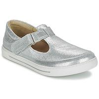 Cipők Lány Balerina cipők / babák Birkenstock ABILENE Ezüst