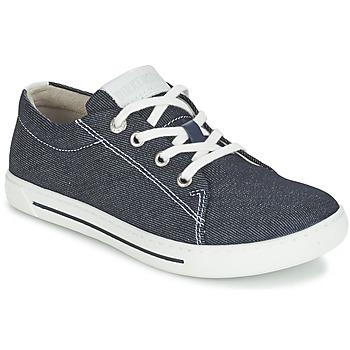Cipők Gyerek Rövid szárú edzőcipők Birkenstock ARRAN KIDS Kék